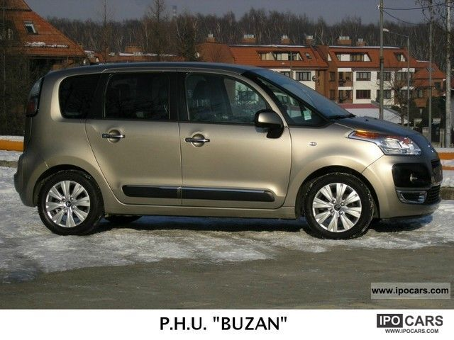 2010 citroen c3 picasso exclusive 1 6hdi car photo and specs. Black Bedroom Furniture Sets. Home Design Ideas