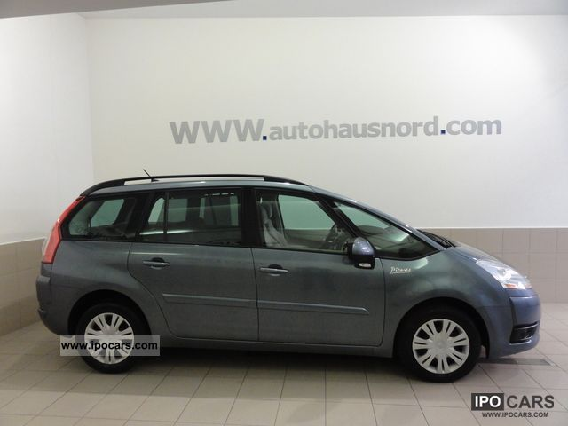 2009 citroen grand c4 picasso 1 6 hdi fap autom gt 7 sitzer car photo and specs. Black Bedroom Furniture Sets. Home Design Ideas