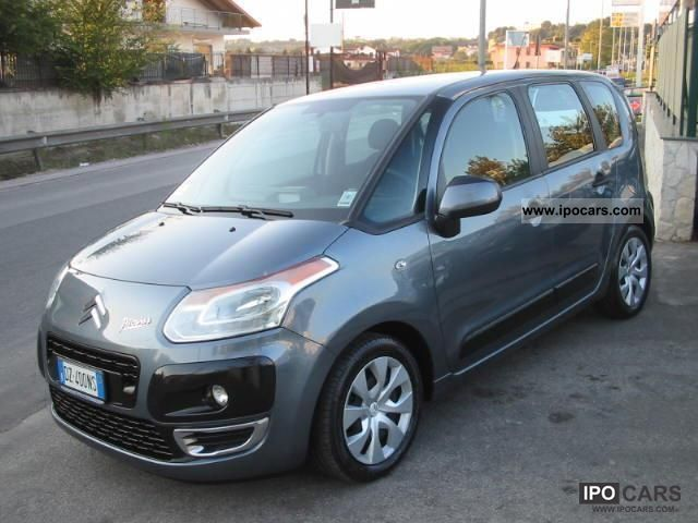 2009 citroen c3 picasso c3 picasso car photo and specs. Black Bedroom Furniture Sets. Home Design Ideas