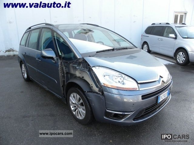 2009 citroen c4 grand picasso 2 0 hdi exclusive cv136 7 posti car photo and specs. Black Bedroom Furniture Sets. Home Design Ideas