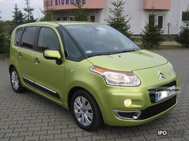 2009 citroen c3 picasso hdi exclusive 2 stref klimtron parktr car photo and specs. Black Bedroom Furniture Sets. Home Design Ideas
