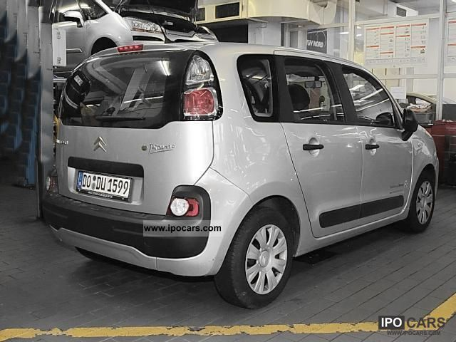2011 citroen c3 picasso vti 95 advance audio climate package car photo and specs. Black Bedroom Furniture Sets. Home Design Ideas
