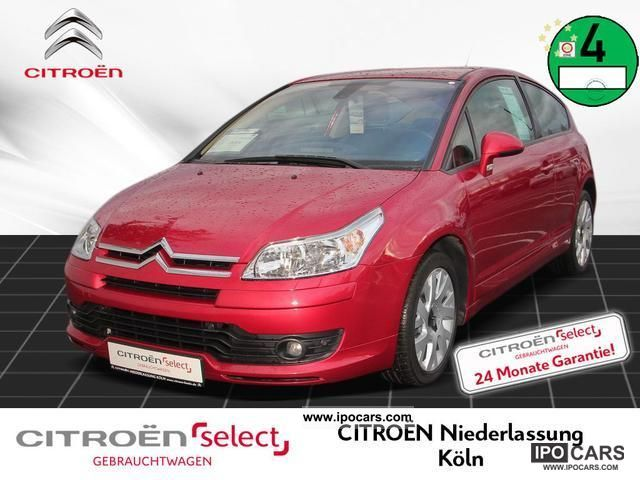 2007 Citroen  C4 Coupe VTS HDi 110 automatic air conditioning Sports car/Coupe Used vehicle photo