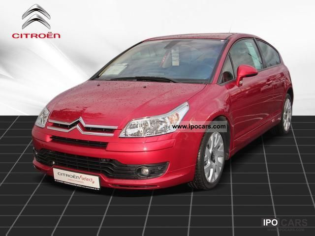 2007 citroen c4 coupe vts hdi 110 automatic air conditioning car photo and specs. Black Bedroom Furniture Sets. Home Design Ideas
