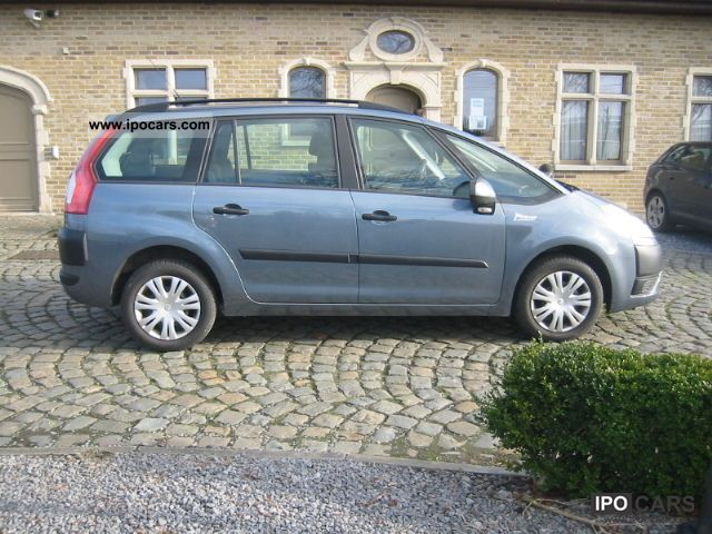 2009 citroen grand c4 picasso car photo and specs. Black Bedroom Furniture Sets. Home Design Ideas