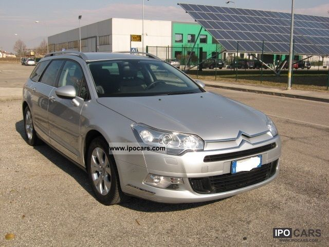 2009 citroen c5 tourer 2 0 hdi 16v exclus c a car photo and specs. Black Bedroom Furniture Sets. Home Design Ideas