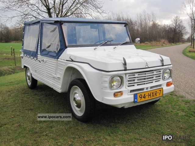 Citroen  Mehari know 4 people in 1979 1979 Vintage, Classic and Old Cars photo