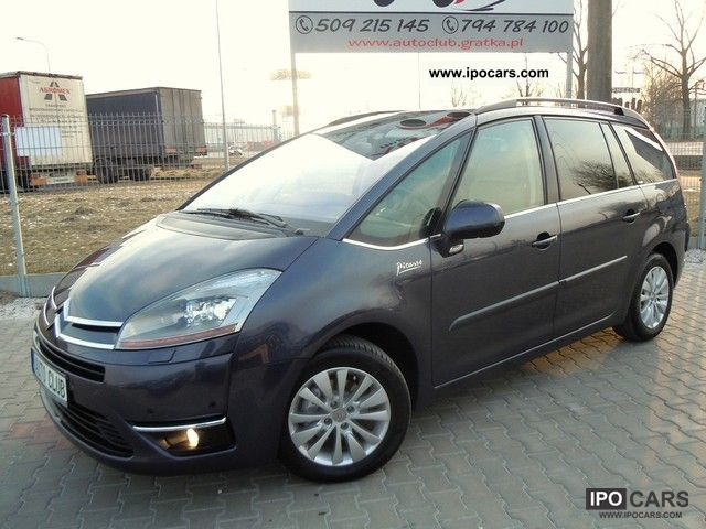 2009 citroen c4 picasso hdi grand exclusive 7 xenon osob car photo and specs. Black Bedroom Furniture Sets. Home Design Ideas