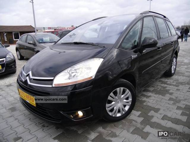 2009 citroen grand c4 picasso manual climate control car photo and specs. Black Bedroom Furniture Sets. Home Design Ideas