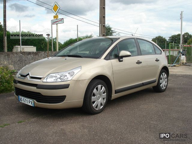 2008 citroen c4 hdi 92 airdream airplay car photo and specs. Black Bedroom Furniture Sets. Home Design Ideas