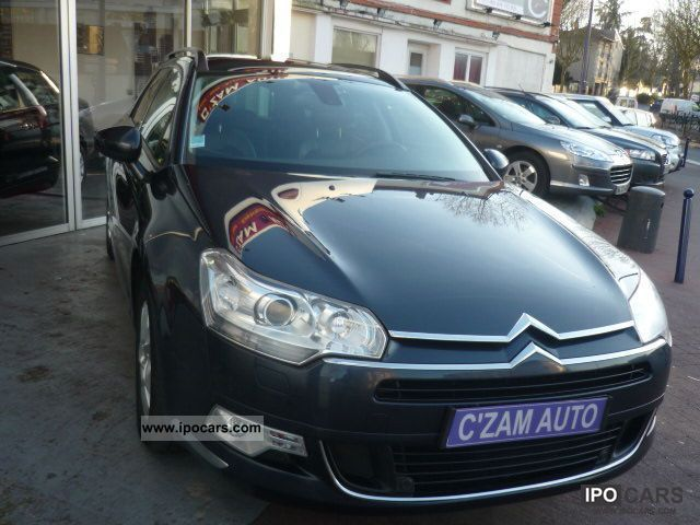 2009 citroen c5 tourer 1 6 hdi 110 fap dynamique car photo and specs. Black Bedroom Furniture Sets. Home Design Ideas