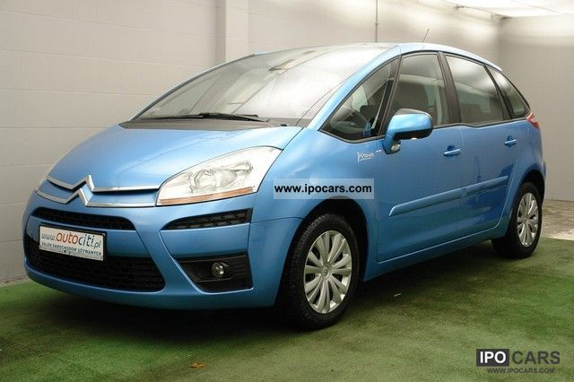 2009 citroen c4 picasso gwarancja salon pl fact 23 car. Black Bedroom Furniture Sets. Home Design Ideas