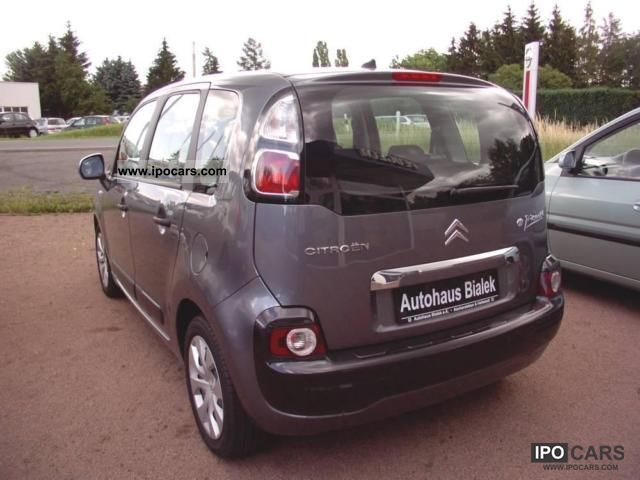2009 citroen c3 picasso tendance 95 vti car photo and specs. Black Bedroom Furniture Sets. Home Design Ideas
