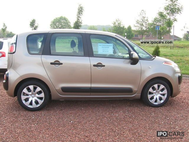 2009 citroen c3 picasso tendance car photo and specs. Black Bedroom Furniture Sets. Home Design Ideas