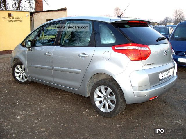 2009 citroen c4 picasso car photo and specs. Black Bedroom Furniture Sets. Home Design Ideas