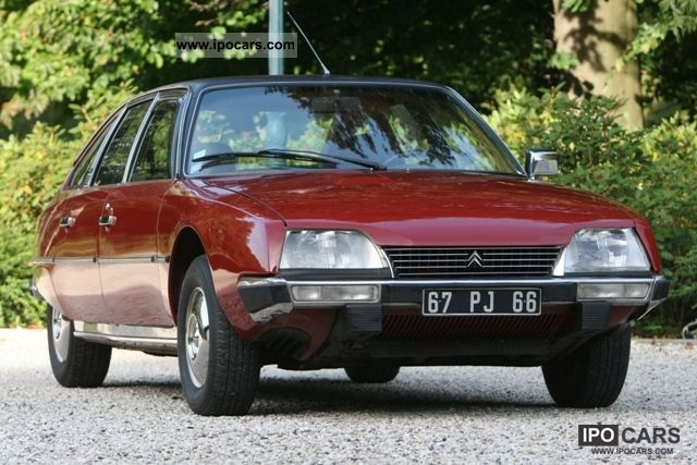 Citroen  CX 2400 Pallas 1979 Vintage, Classic and Old Cars photo