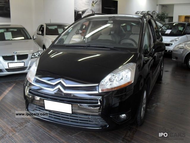 2007 citroen c4 gr picasso 1 6 hdi 110 fap elegance car photo and specs. Black Bedroom Furniture Sets. Home Design Ideas