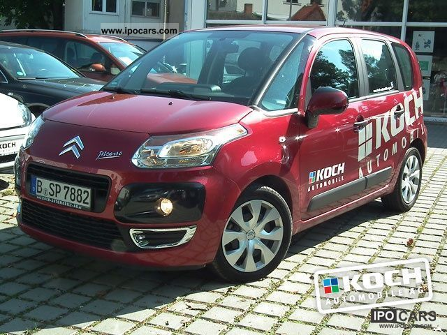 2011 citroen c3 picasso vti 120 tendance air car photo and specs. Black Bedroom Furniture Sets. Home Design Ideas