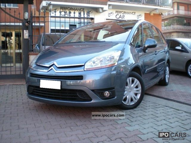 2008 citroen c4 gr picasso 2 0 hdi 138 fap cmp 6 elegance car photo and specs. Black Bedroom Furniture Sets. Home Design Ideas