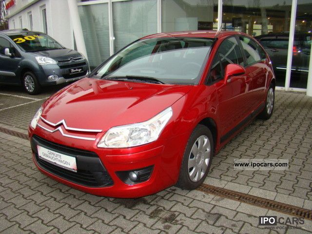 2009 citroen c4 hdi 110 fap tonic car photo and specs. Black Bedroom Furniture Sets. Home Design Ideas