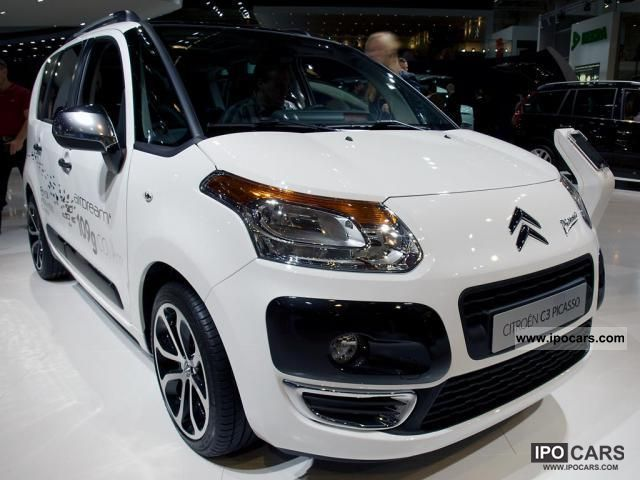 2011 citroen c3 picasso attraction vti 95 70 kw 95 hp car photo and specs. Black Bedroom Furniture Sets. Home Design Ideas