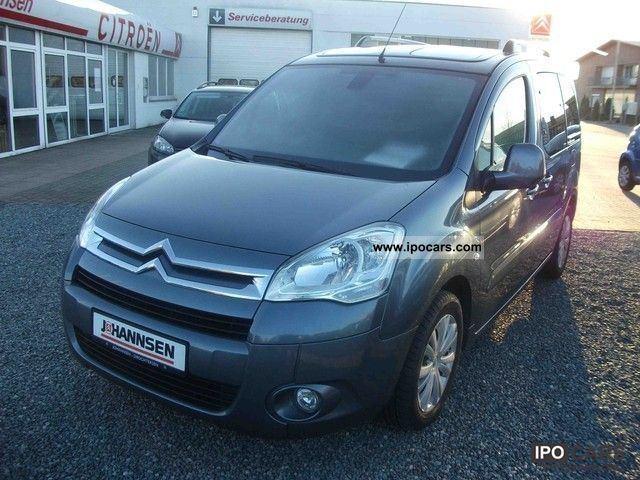 2008 citroen berlingo hdi 110 exclusive glass roofs klimaau car photo and specs. Black Bedroom Furniture Sets. Home Design Ideas