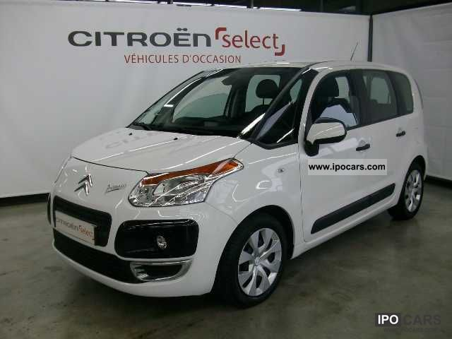 2010 citroen c3 picasso hdi 90 airdream confort car photo and specs. Black Bedroom Furniture Sets. Home Design Ideas