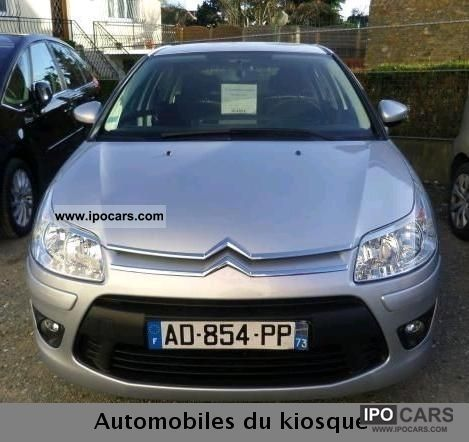 2009 citroen c4 hdi confort 92 car photo and specs. Black Bedroom Furniture Sets. Home Design Ideas