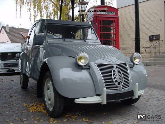 Citroen  2 CV / A corrugated iron duck / Urente 1952 Vintage, Classic and Old Cars photo