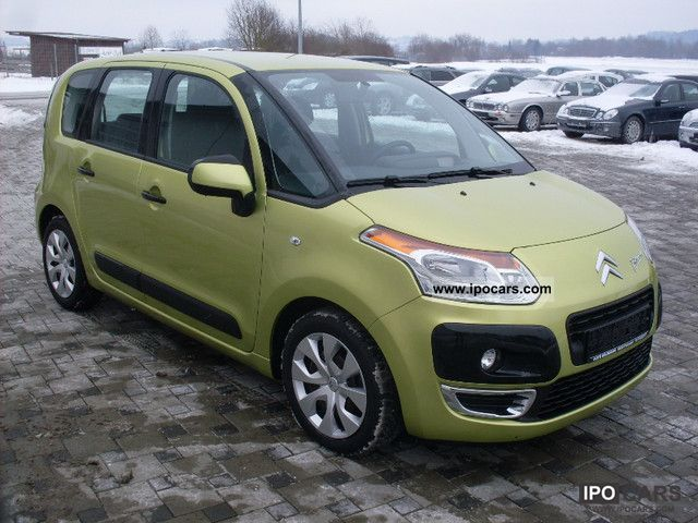 2009 citroen c3 picasso hdi 90 fap seduction 1st hand climate car photo and specs. Black Bedroom Furniture Sets. Home Design Ideas