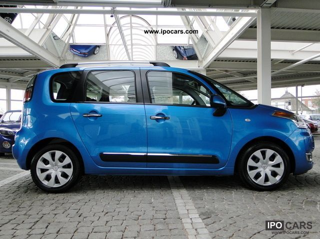 2011 citroen c3 picasso vti 95 exclusive climate control pdc car photo and specs. Black Bedroom Furniture Sets. Home Design Ideas