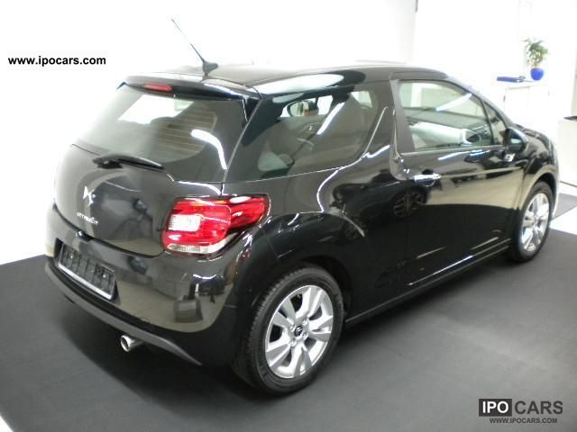 2011 citroen ds3 chic vti 95 car photo and specs. Black Bedroom Furniture Sets. Home Design Ideas