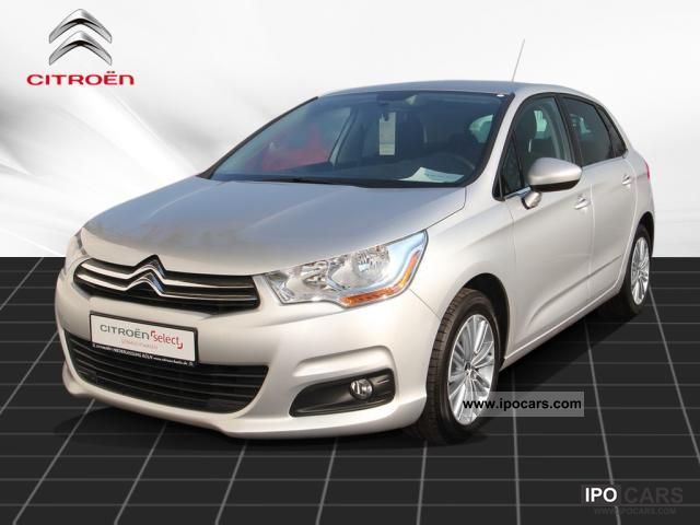 2010 citroen c4 new vti 120 tendance city climate package car photo and specs. Black Bedroom Furniture Sets. Home Design Ideas