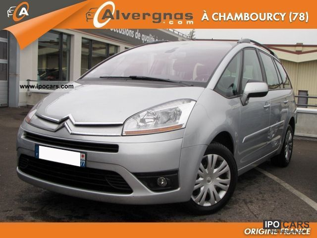 2010 citroen c4 grand picasso 1 6 hdi 110 fap pack pm. Black Bedroom Furniture Sets. Home Design Ideas