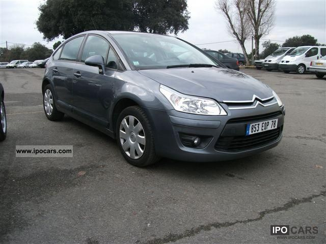 2008 citroen c4 1 6l hdi confort 92ch car photo and specs. Black Bedroom Furniture Sets. Home Design Ideas