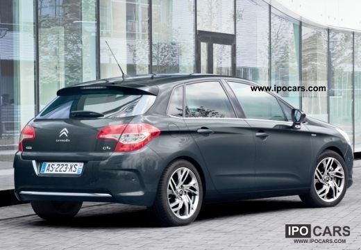 2011 citroen c4 vti 95 tendance car photo and specs. Black Bedroom Furniture Sets. Home Design Ideas