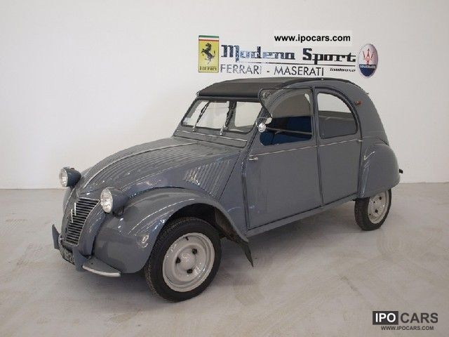 Citroen  2 CV 425cc 1959 Vintage, Classic and Old Cars photo