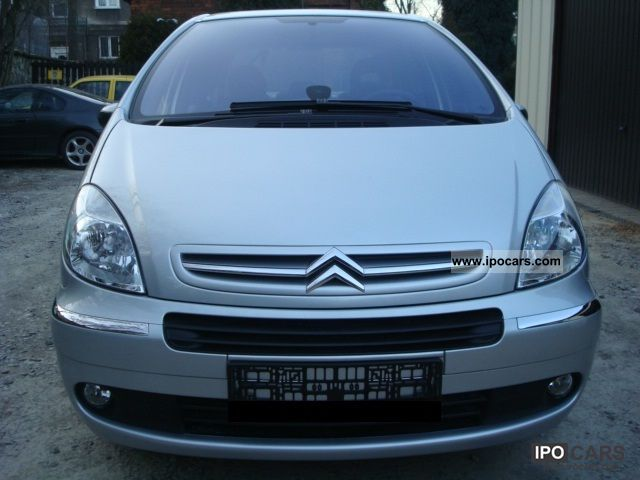 2010 citroen xsara picasso 1 6 hdi 90 tendance klimaaut car photo and specs