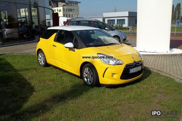2010 citroen ds3 so chic car photo and specs. Black Bedroom Furniture Sets. Home Design Ideas