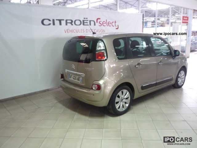 2009 citroen c3 picasso hdi 110 fap airdream exclusive car photo and specs. Black Bedroom Furniture Sets. Home Design Ideas