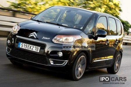 2012 citroen c3 picasso vti 95 attraction car photo and specs. Black Bedroom Furniture Sets. Home Design Ideas