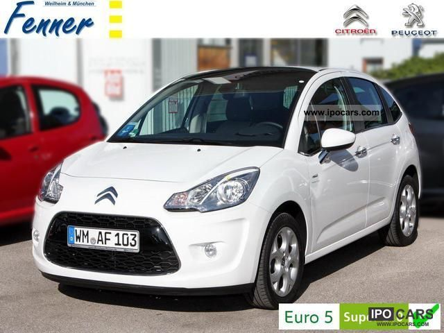 2012 citroen c3 exclusive 95 new zenith auto air pdc alu car photo and specs. Black Bedroom Furniture Sets. Home Design Ideas