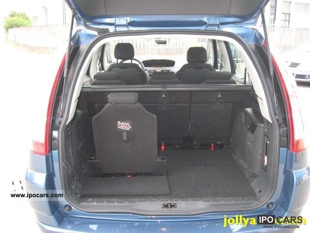 2009 citroen c4 gr picasso 1 6 hdi 110 f cmp 6 air el. Black Bedroom Furniture Sets. Home Design Ideas