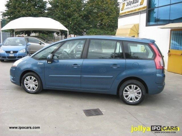 2009 citroen c4 gr picasso 1 6 hdi 110 f cmp 6 air el car photo and specs. Black Bedroom Furniture Sets. Home Design Ideas