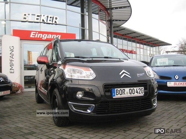 2011 citroen c3 picasso vti 120 color selection car photo and specs. Black Bedroom Furniture Sets. Home Design Ideas
