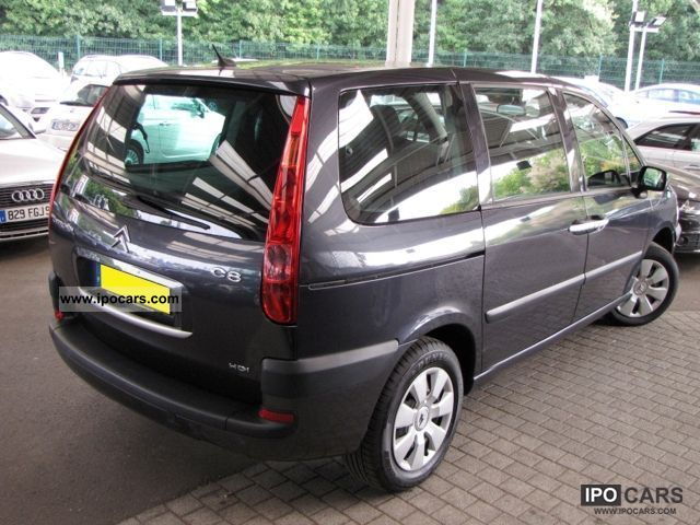 2007 citroen c8 2 0 hdi 138 fap pack gps 7pl car photo and specs. Black Bedroom Furniture Sets. Home Design Ideas