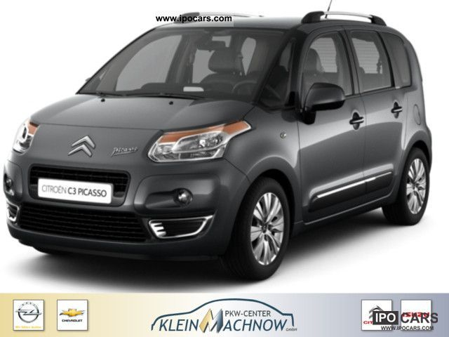 2011 citroen c3 picasso vti 120 exclusive klimaautomatik car photo and specs. Black Bedroom Furniture Sets. Home Design Ideas