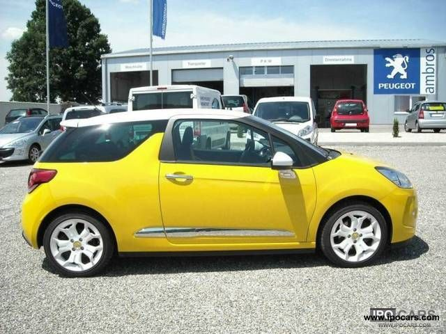 2010 citroen ds3 1 6 thp 150 sport chic car photo and specs. Black Bedroom Furniture Sets. Home Design Ideas