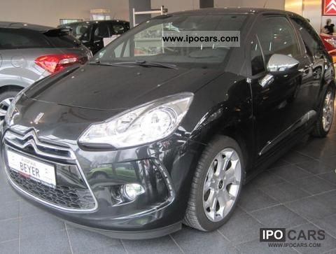 2010 citroen ds3 thp 150 sport chic car photo and specs. Black Bedroom Furniture Sets. Home Design Ideas