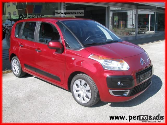 2010 citroen c3 picasso tendance hdi 110 car photo and specs. Black Bedroom Furniture Sets. Home Design Ideas